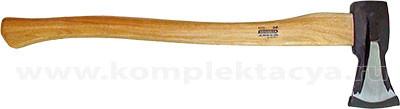 Топор-колун с деревянной рукояткой