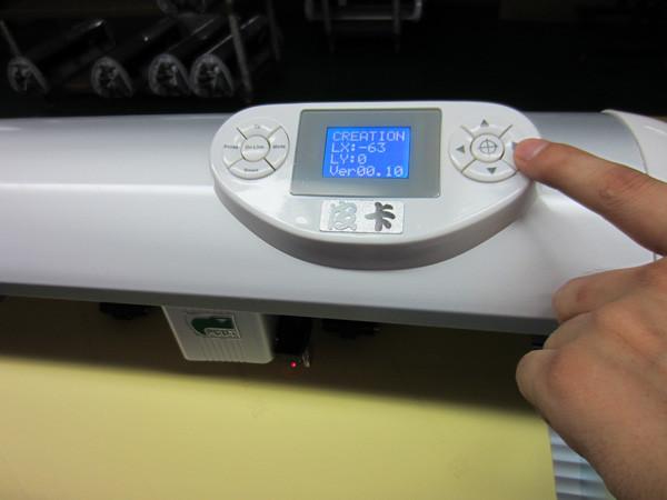 Режущий плоттер МТ -1200 с программой лазерного позиционирования