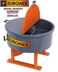 Растворосмеситель (бетоносмеситель) принудительного действия EUROMIX 600.300/300М