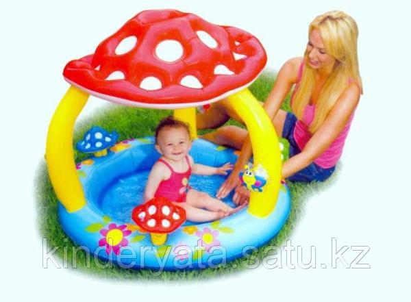 """Надувной бассейн """"Грибок с навесом"""" Intex"""