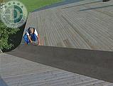 Подкладочный ковер RUFLEX на основе СБС модифицированного битума для гибкой черепицы 1х15 м. (15 кв.м.), фото 5