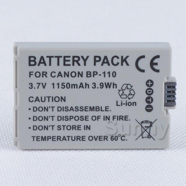 Аккумулятор CANON BP-110