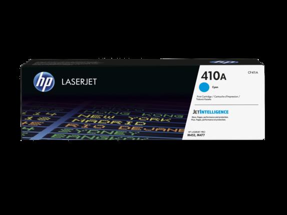 HP CF411A Картридж лазерный HP 410A голубой для Color LaserJet Pro M452/M477, ресурс 2300 стр