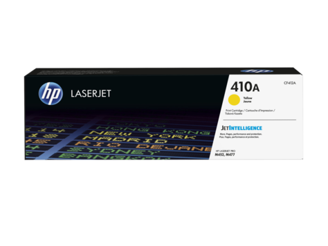 HP CF412A Картридж лазерный HP 410A желтый для Color LaserJet Pro M452/M477, ресурс 2300 pages