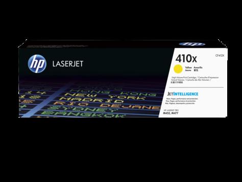 HP CF412X Картридж лазерный HP 410X желтый для Color LaserJet Pro M452/M477, ресурс 5000 стр