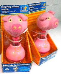 Playwell Погремушка - Свинка
