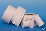 Термотрансферные этикетки, полипропилен, 47*25*76, втулка 40 мм, (2000 эт/рул)