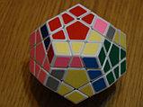Кубик Megaminx Мегаминкс 3х3 черный Шенгшоу, фото 4