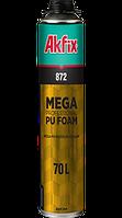 872 Мега Профессиональная Монтажная Пена 70L + 5 ° С