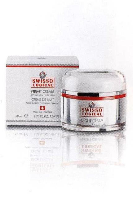 Цептер косметика SWISSO LOGICAL ночной крем для нормальной/жирной кожи
