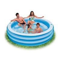 """Надувной бассейн Intex 57481 """"Family"""" 203х56 см"""