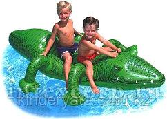 Надувная игрушка Гигантский Крокодил, 203 х 114 см