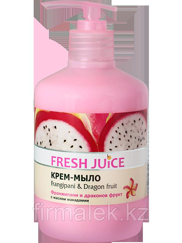 Крем-мыло Frangipani & Dragon fruit
