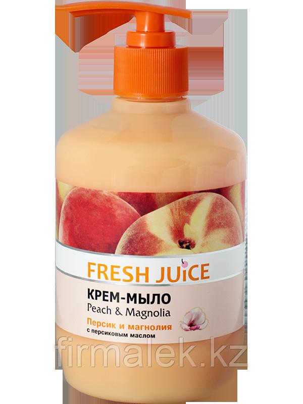 Крем-мыло с персиковым маслом Peach & Magnolia