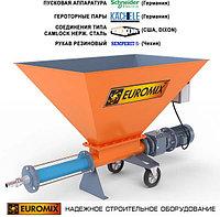 Растворонасос для растворов, легких бетонов (пенобетон, полистиролбетон) EUROMIX 400.8.300
