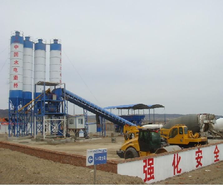 Бетоносмесительные установки и заводы из Китая 180 м3/ч
