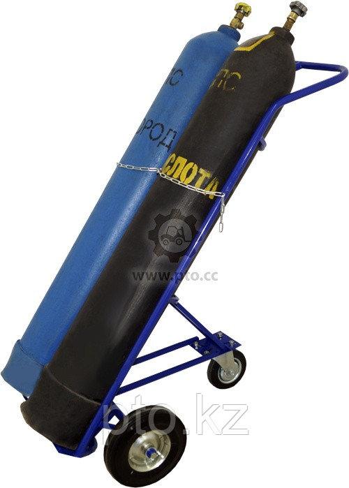 Тележка для перевозки баллонов ГБ-2