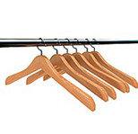Плечики деревянные широкие ( убойная) 45 см