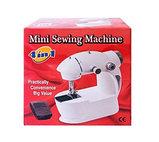 Портативная мини швейная машинка. Mini sewing machine., фото 4