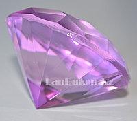 Сувенир кристалл из камня сиреневый 50 гр