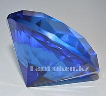 Сувенир кристалл из камня ярко-синий 50 гр