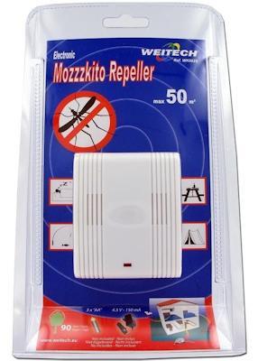 Упаковка отпугивателя комаров Weitech WK0029