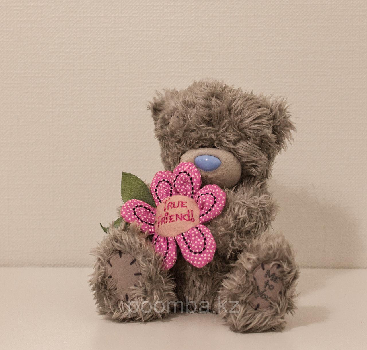 """Мягкая игрушка Teddy """"Me to You"""" 19 см с цветочком"""