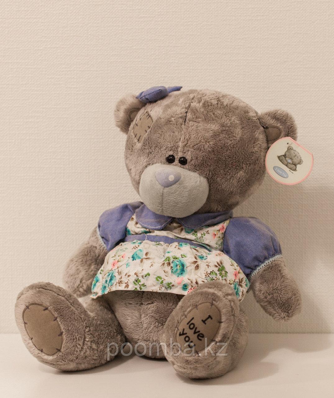 """Мягкая игрушка Teddy """"Me to You"""" 30 см в голубом платье"""