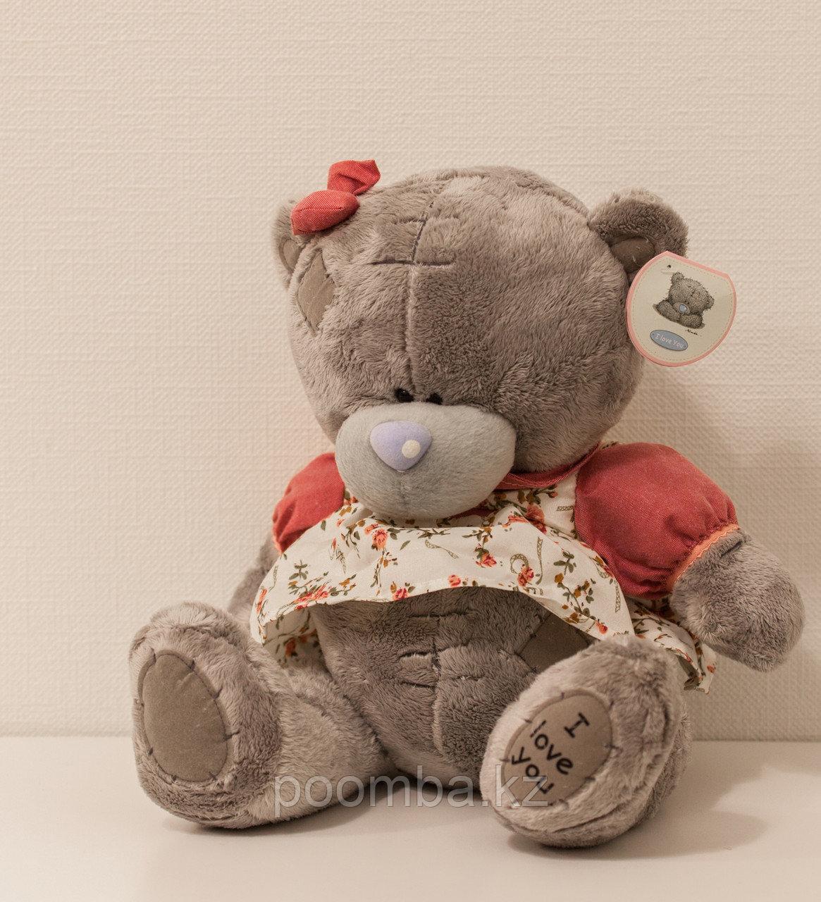 """Мягкая игрушка Teddy """"Me to You"""" 30 см в розовом платье"""