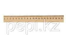 Линейка деревянная 20см