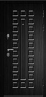 Дверь СЕНАТОР-2060/880/L/R квадро тик/венге, фото 1