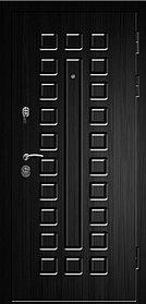 Дверь СЕНАТОР-2060/880/L/R квадро тик/венге
