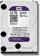 2Tb HDD  WD Purple SATA для систем видеонаблюдения, фото 1