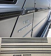 Карбоновые Молдинги боковые AMG для Mercedes Benz G-class, фото 1