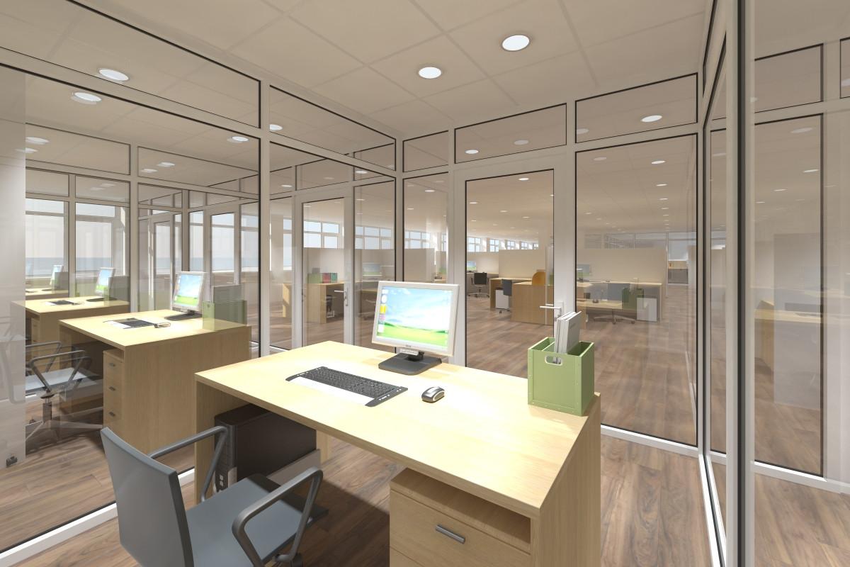 Проект-дизайн офисных помещений