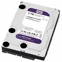 4Tb HDD WD Purple SATA для систем видеонаблюдения, фото 1