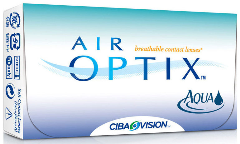 Линзы Air Optix Aqua (3 блистера) - фото 1