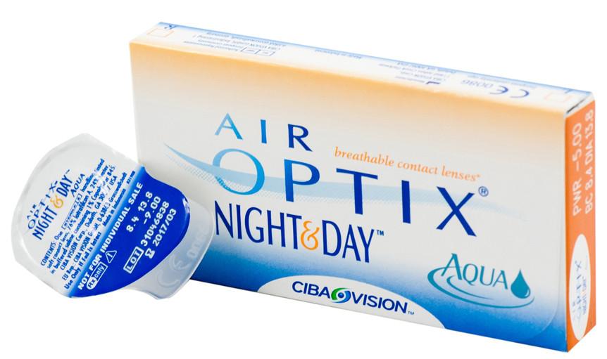 Линзы Air Optix Night&Day (3 блистера) - фото 1