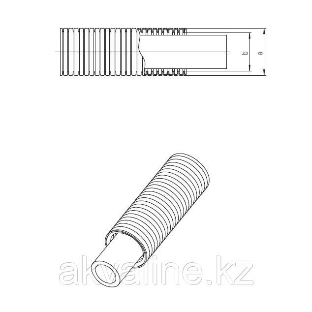 Универсальная труба RAUTITAN stabil 20 х 2,9 в гофротрубе, REHAU Германия