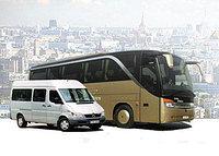 Круглосуточная аренда автобусов различной вместимости