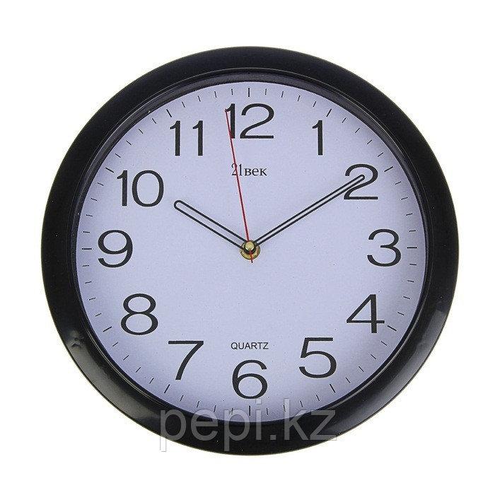 """Часы настенные """"Черные классические"""",d30см"""