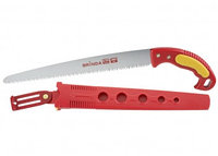 Ножовка GRINDA садовая, шаг зуба 4,0 мм (6 TPI), длина полотна 300 мм, в ножнах