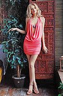 Laete Эффектная летняя модель - платье с глубоким вырезом спереди