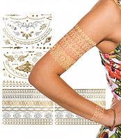 Тату переводное «БЛЕСК» Shimmer Jewelry Tattoos