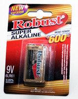 "Батарейки крона алкалин ""Robust"" 6F22"