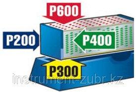 Брусок ЗУБР с алмазным напылением четырехсторонний, на подставке, P 200/300/400/600, 150х50мм