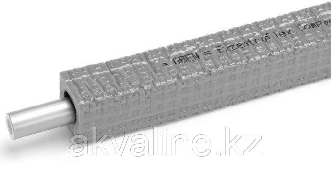 Универсальная труба RAUTITAN flex 16,2 х 2,6 прямоугольная изоляция 9мм, REHAU Германия