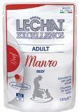 LeChat Fresh Excellence консервы для кошек кусочки с говядиной, пауч 100г