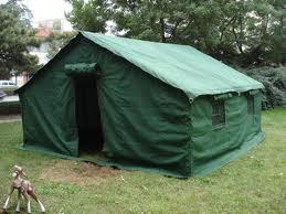 Палатка военная 3X4 м. брезентовая - фото 2