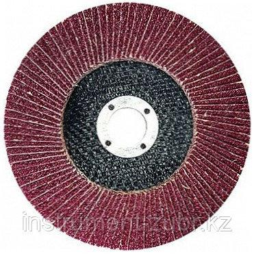 "Круг лепестковый торцевой, 115 х 22,2мм, тип КЛТ1, ""Луга"" Р60, фото 2"